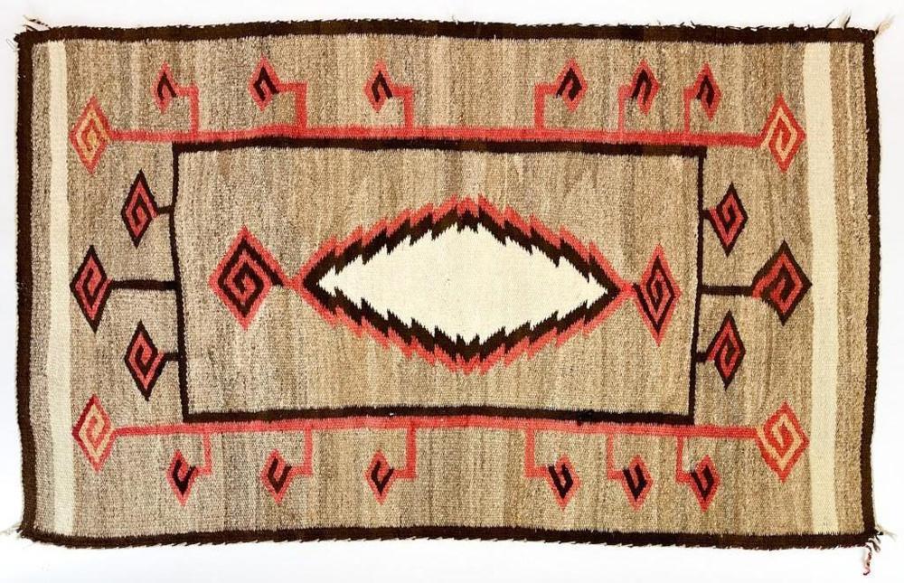 Native American Navajo Woven Rug