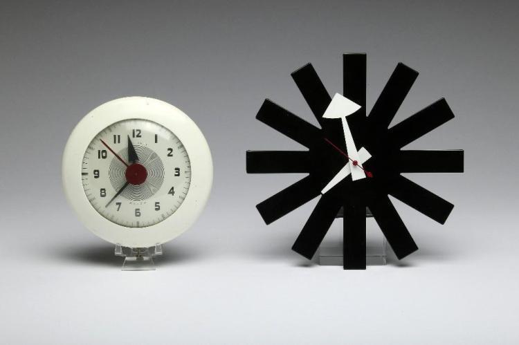 George Nelson Howard Miller Asterisk Clock Sentinel Wafer