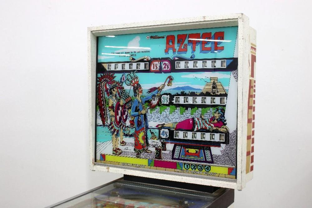 Vintage Williams Aztec Pinball Machine Arcade Game