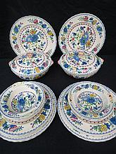 A Masons Regency 21 piece dinner service including