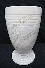 A large William Moorcroft vase with waving corn
