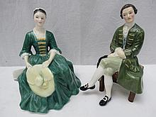 A Royal Doulton figure 'A gentleman from