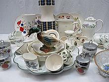 An Aderley bone china coffee service for six