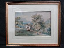 Major General Sir Charles D'Oyly, Cottages between Glion and