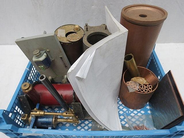 A quantity of model engineer made boilers, copper