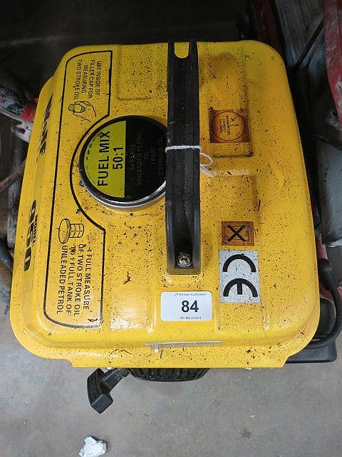 A Wolff power model 950 portable generator.