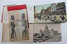 South Africa three postcard booklets of Durban,