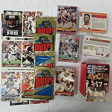 American football, NFL pro set 91-92 in five small