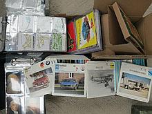 Sports, houses, cars, planes selection of small