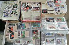 Football themed cards, very large selection in