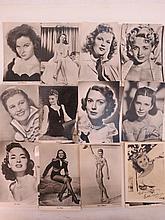 A rare set of over thirty vingate publicity photo