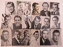 A rare set of over thirty vintage publicity shot