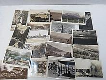 Postcard selection from a Pacific and America