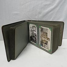 An album of postcards/photographs relating to a 'grand tour' cruise to Europe (mainly Italy) in the 1930s featuring a number of vessels and a shot of Mussolini's Rome residence. Inherited and owned by the vendor.