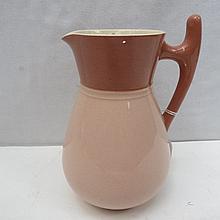 A James Macintyre early Moorcroft jug with 2-tone