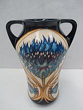 A Moorcroft limited edition twin handled vase with