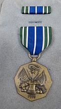 An American medal for Military Merit, with ribbon,