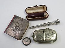 A patent combined vest case and sovereign holder