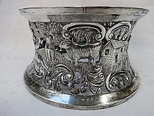 A superb Georgian style Irish HM silver pierced