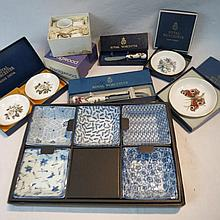 Royal Worcester boxed items including cheese