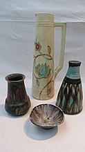 G. Radford of Burslem (1933-1948) tall vase (258)