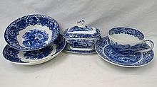 Two large bowls in George Jones Abbey design, a