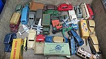 A quantity of Dinky toys including Volkswagen 181