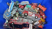 A quantity of Corgi and Dinky die cast cars and