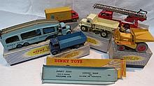 A Dinky Pullmore Car Transporter, no. 582, boxed,