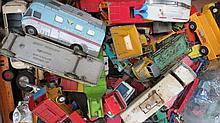 A quantity of Dinky and Corgi die-cast toys