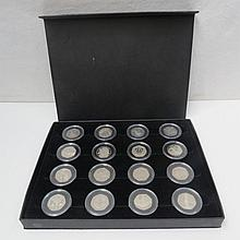 United Kingdom 50 pence Proof Collection, 40th