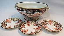 A Royal Crown Derby (c1878-90) large two handled