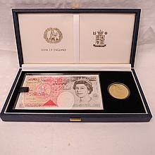 A Royal Mint HRH Prince of Wales Fiftieth Birthday