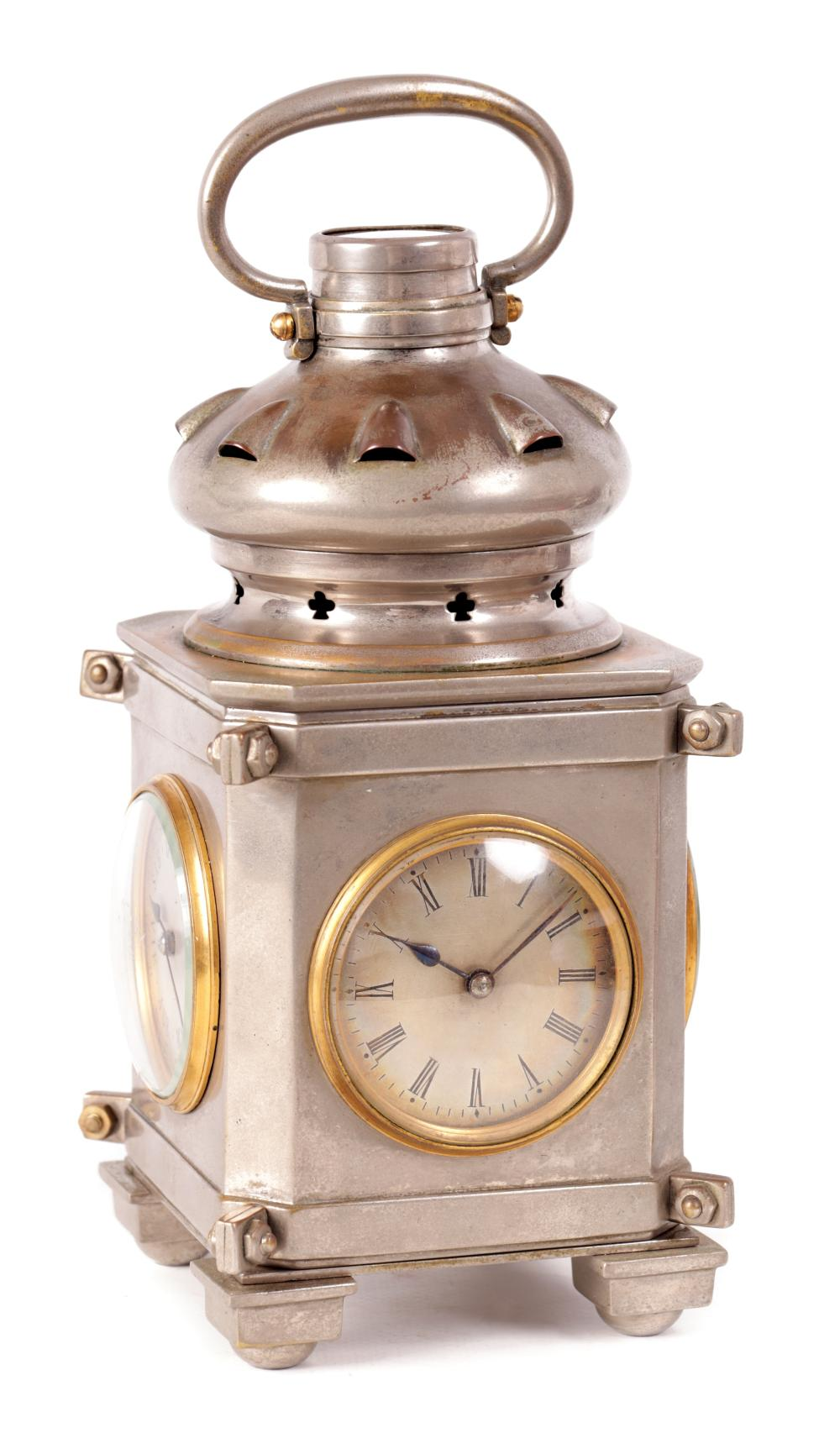 A RARE AND UNUSUAL FRENCH INDUSTRIAL CLOCK COMPENDIUM