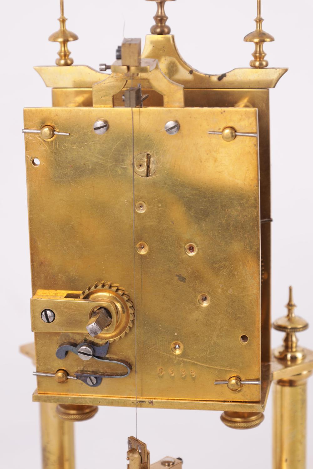 AN EARLY 400-DAY TORSION CLOCK