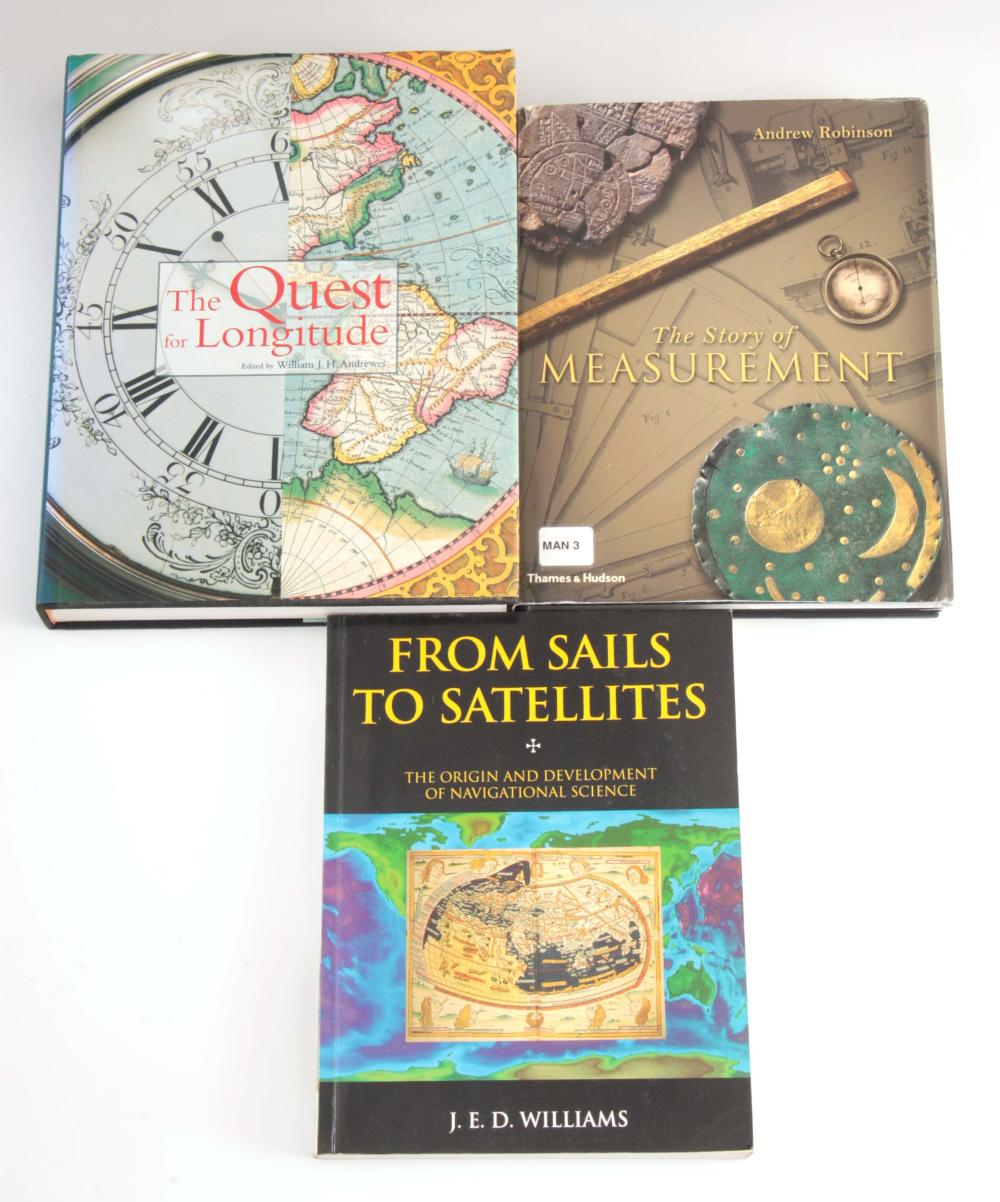 3 Books - FROM SAILS TO SATELLITES, the origin and