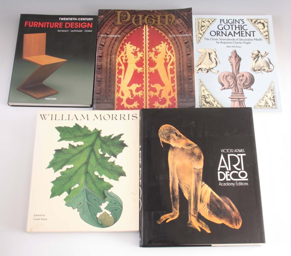 5 Books - Twentieth-Century furniture Design by Ta