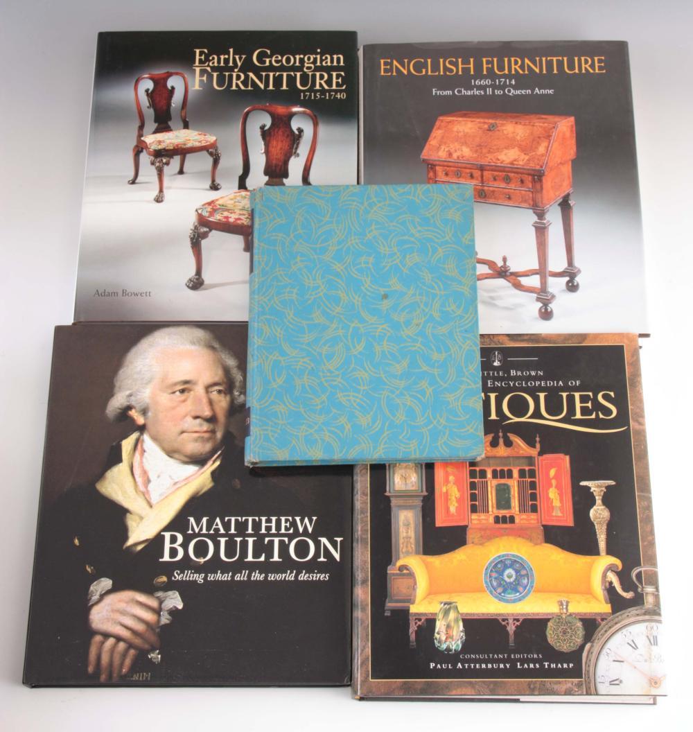 5 Books - Regency Furniture Designs 1803 - 1826 by