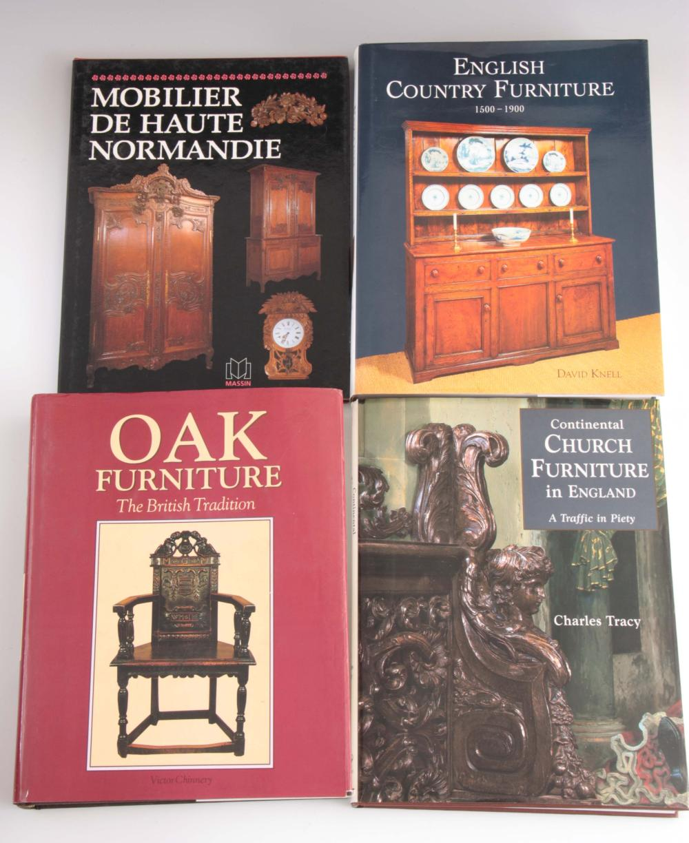 4 Books - English Country Furniture 1500 - 1900 by