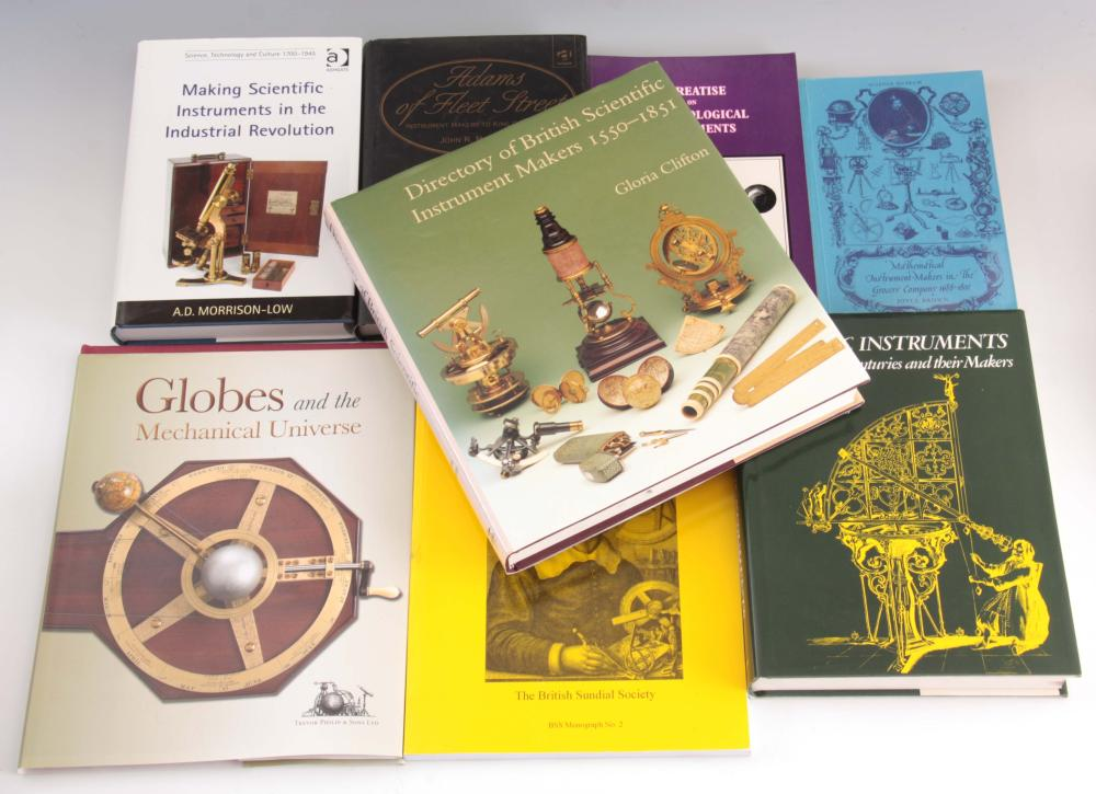 8 Books - Mathematical Instrument-makers in the gr