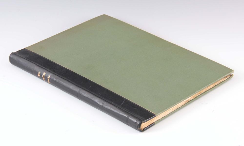 F. H. GREEN. OLD ENGLISH CLOCKS. A rare limited ed
