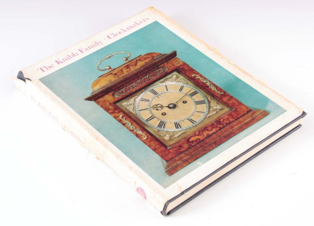 RONALD A. LEE. THE KNIBB FAMILY CLOCKMAKERS. A rar