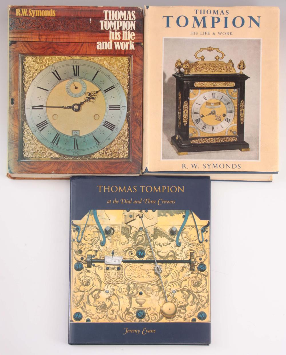 1, JEREMY EVANS, THOMAS TOMPION AT THE DIAL AND TH