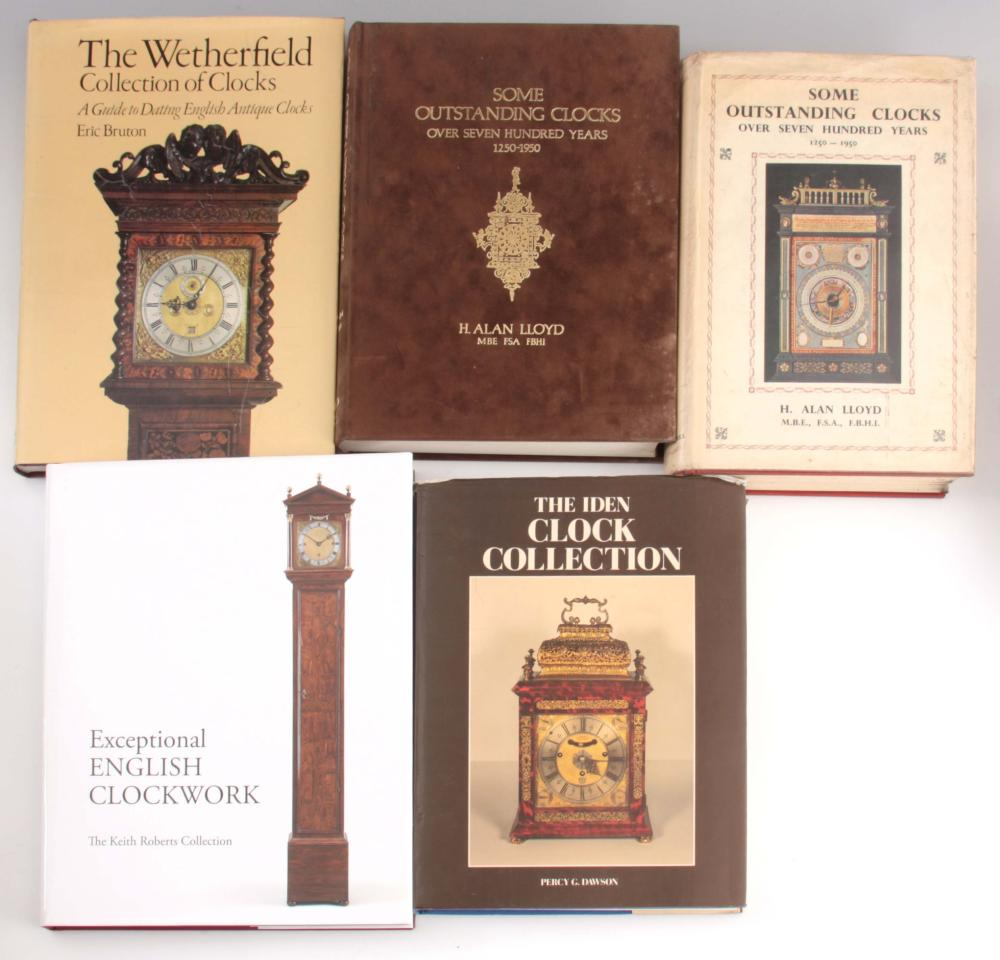 1, PERCY G. DAWSON, THE IDEN CLOCK COLLECTION. 2,