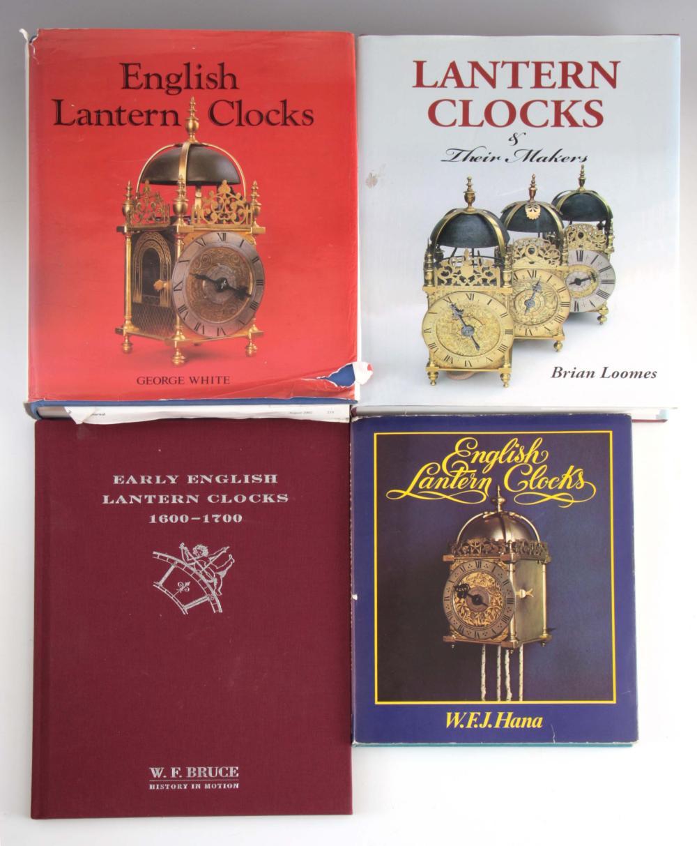 1, GEORGE WHITE, ENGLISH LANTERN CLOCKS. 2, BRIAN