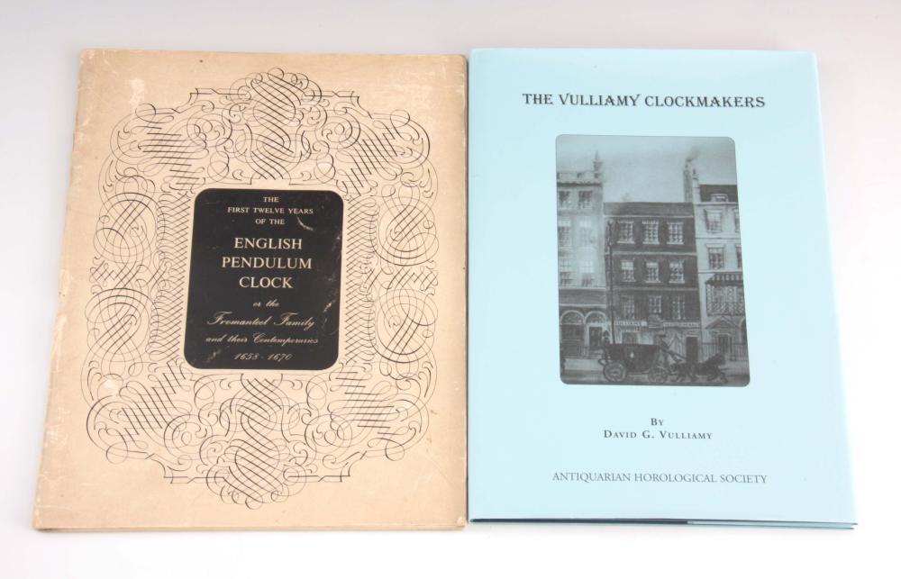 1, DAVID G. VULLIAMY, THE VULLIAMY CLOCKMAKERS. 2,