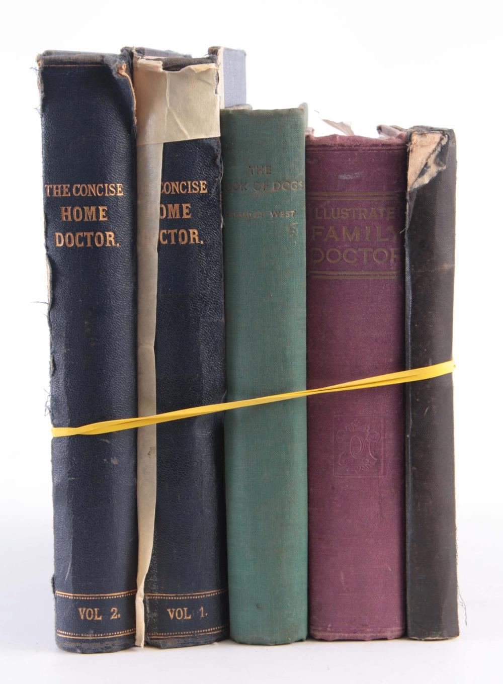 A SELECTION OF MEDICAL BOOKS including The Concise