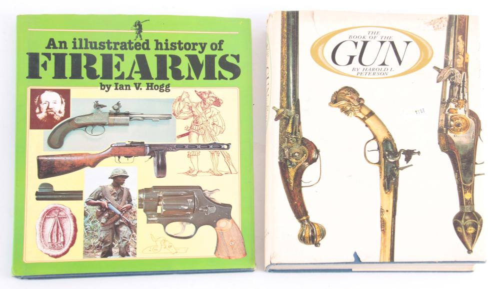TWO FIRE ARM BOOKS including An Illustrated Histor