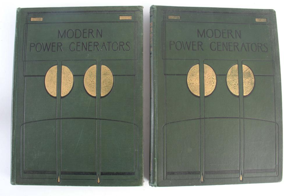 MODERN POWER GENERATORS, A TWO VOLUME EDITION, by