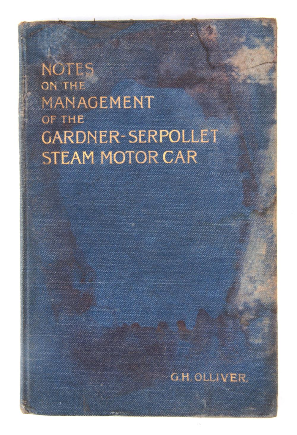 A RARE BOOK, NOTES ON THE MANAGEMENT OF THE GARDNE